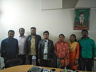 Workshop for Santali Wikipedia Community in Bangladesh, 2017 (1).jpg