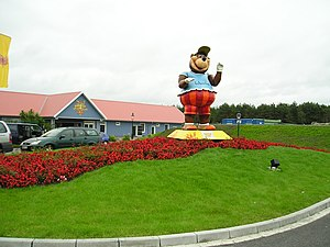 Heide Park - Mascot Mumbo Wumbo at the Holiday Camps