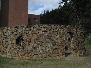 Nancy Holt - Rock Rings in Bellingham, Washington.