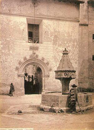 Xàtiva, font gòtica, 1870 J.Laurent