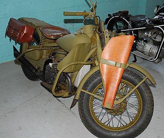 Harley-Davidson WLA - Harley copied the BMW R71 to produce its XA model.