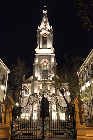 Religion in Azerbaijan - Lutheran Church of the Saviour in Baku.