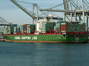 Xin Lian Yun Gang, at the Amazone harbour, Port of Rotterdam, Holland 24-Jan-2006.jpg