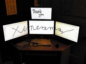 Xinerama - Modern Xinerama example