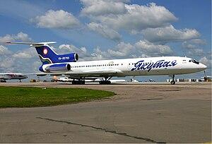 Yakutia Airlines - Yakutia Airlines Tu-154