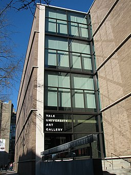 Yale University Art Gallery entrance