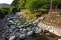 Yasura River water park at Azuma Bridge.jpg