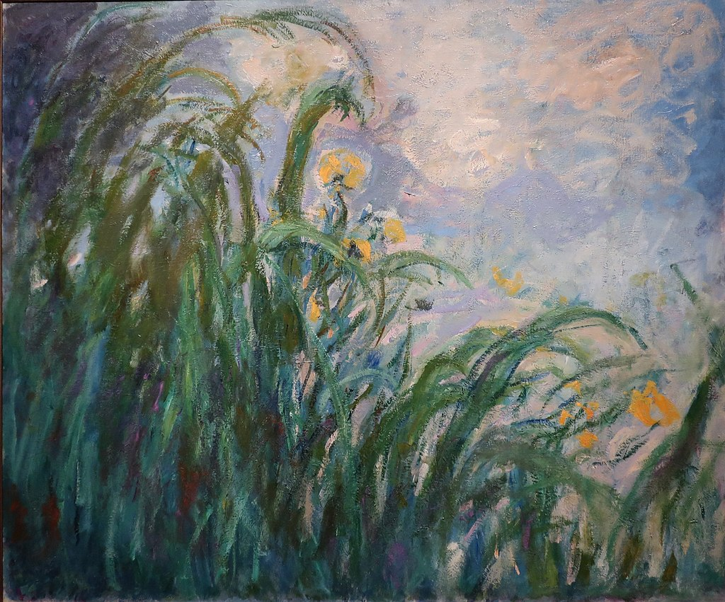 Yellow Irises by Claude Monet, Musée Marmottan Monet