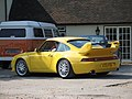 Yellow Porsche 911 Carrera RS Type 993 Clubsport (rear).jpg