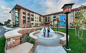 Colorado Christian University - Image: Yetter Hall CCU