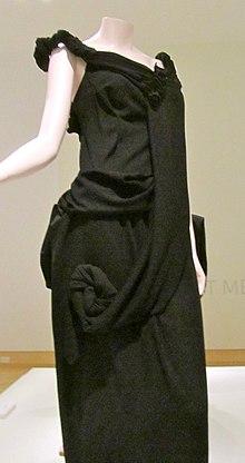ed20e7a745e8 Yohji Yamamoto polyester gown 1998