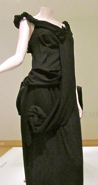 File:Yohji Yamamoto polyester gown 1998.jpg