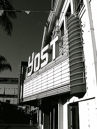 Yost Theater - The Yost Theater pictured in 2007