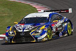 SUPER GTに参戦するWedsSport ADVAN RC F(2014年)