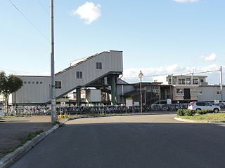 Yurigahara Station Railway station in Sapporo, Japan