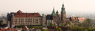 Wawel Castle - Wawel seen from St. Mary's Basilica
