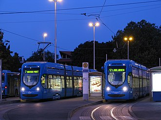 Trams in Zagreb - Zagreb trams in 2009