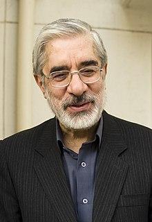 Mir-Hossein Mousavi Iranian reformist politician and architect