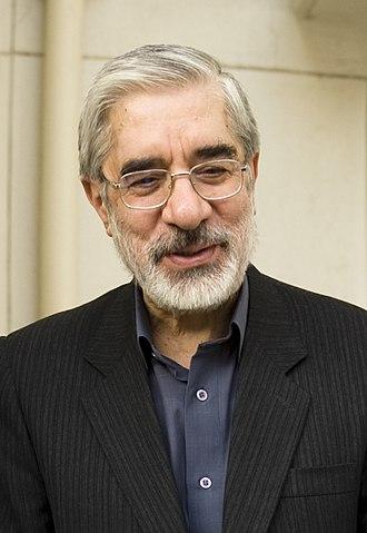 Mir-Hossein Mousavi - Mousavi in 2009