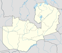 Chipata is located in Zambia