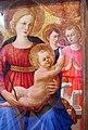 Zanobi strozzi, madonna col bambino, quattro angeli e il redentore, 1450 ca. 05.JPG