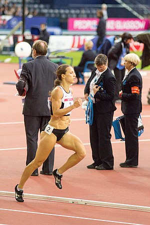 Jessica Zelinka - Jessica Zelinka competing at the 2014 Commonwealth Games