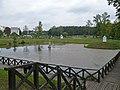 Zespół zamkowy (XV-XVIw.) obwarowania ziemne z fosami (XVIIw.) (fot. 3) - Kodeń powiat bialski woj. lubelskie ArPiCh A-55.JPG