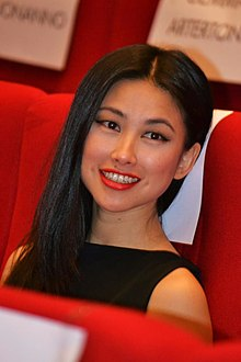 Zhu Zhu - the beautiful, cute,  actress, TV Presenter,   with Chinese roots in 2019
