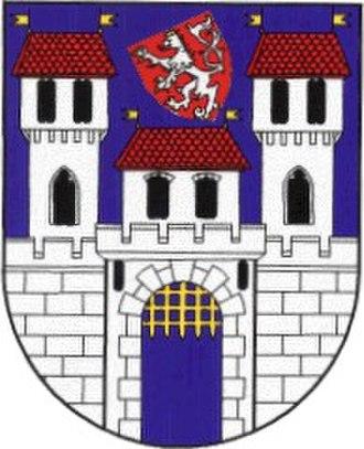 Ústí nad Labem Region - Image: Znakzatec