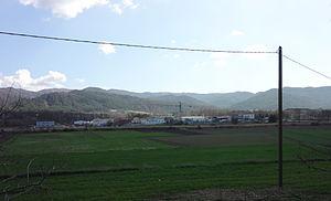 Aiglun, Alpes-de-Haute-Provence - Bléone area, the main industrial zone of Aiglun