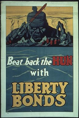 """Beat back the HUN with LIBERTY BONDS."" - NARA - 512638"