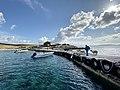 'ΑΝΑΓΚΑΣΤΙΚΟΣ ΣΥΝΕΤΑΙΡΙΣΜΟΣ ΡΗΝΕΙΑΣ' - Νησίδες Μυκόνου, αποβίβαση στον Κάσσαρη.jpg