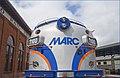 'MARC No. 7100' -- B & O Railroad Museum Baltimore (MD) July 2103 (9280656404).jpg