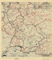 (July 11, 1945), HQ Twelfth Army Group situation map. LOC 2004629203.tif