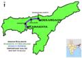 (Kamakhya - Dekargaon) Intercity Express Route map.png
