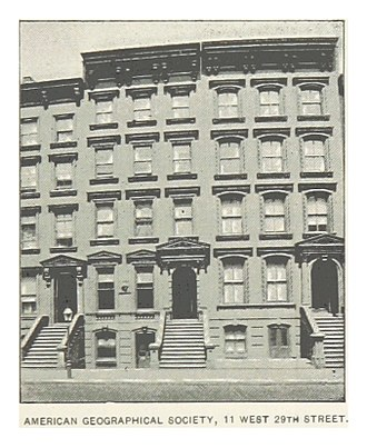 American Geographical Society - AMERICAN GEOGRAPHICAL SOCIETY, 11 W29th St, Manhattan