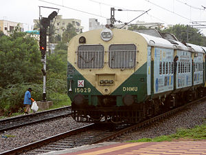 Bolarum – Secunderabad route (MMTS, Hyderabad)
