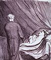 (Physician attending to a woman in bed) (4378796551).jpg