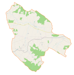 Mapa lokalizacyjna gminy Łużna