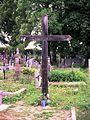 Łużna cmentarz parafialny, krzyż misyjny.jpg