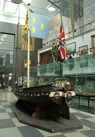 Central Naval Museum - ''Botik'' of Peter the Great