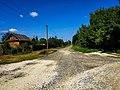 Вулиця в с. Лугове, Ярмолинецький район.jpg