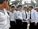 В українських ВМС після 7-річної перерви відновлено катерну практику майбутніх офіцерів із заходами до іноземних портів (30044136111).jpg