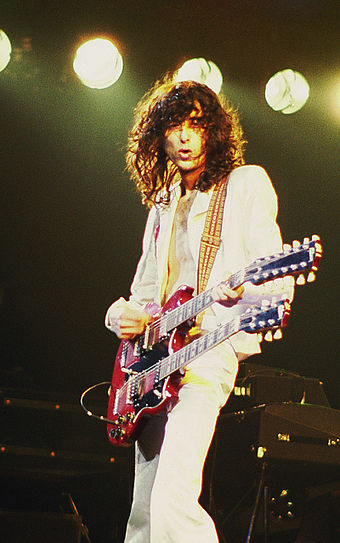 "Jimmy Page playing ""Stairway to Heaven"""
