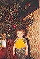 Ефремов. Мальчик и новогодняя ель. Скорее всего НГ 1999-2000.jpg