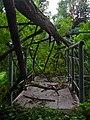 Заброшенный мостик над водосбросом - Abandoned bridge over spillway - panoramio.jpg