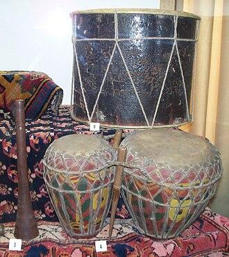 Naqareh - Ghosha Naqara with zurna and naqareh