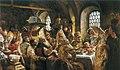 К Е Маковский Боярский свадебный пир в xvii веке 1883.jpg