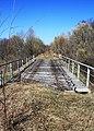 Латвия Призрак железной дороги Рига - Лимбажи (мост через автодорогу Р9) - panoramio.jpg