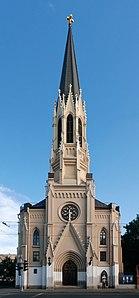 Лютеранская церковь святого Михаила. Фасад по среднему роспекту..jpg